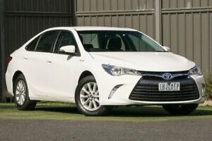 2016 Toyota Camry AVV50R Altise Diamond White 1 Speed Constant Variable Sedan Hybrid Wantirna South Knox Area Preview