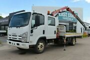 2011 ISUZU NQR 450 Dual Cab Crane Truck  SN#5524 Acacia Ridge Brisbane South West Preview