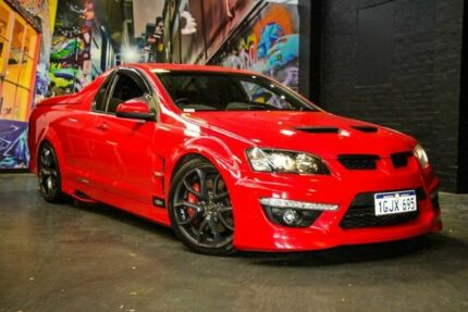 2011 Holden Special Vehicles Maloo E Series 3 R8 Red Hot 6 Speed Manual Utility