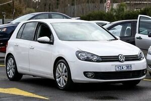 2012 Volkswagen Golf VI MY13 103TDI DSG Comfortline White 6 Speed Sports Automatic Dual Clutch Hatch Ringwood East Maroondah Area Preview