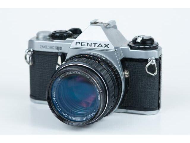 Pentax ME Super 35mm Camera w/ SMC-M 50mm F1.4 Lens & UV Filter - Just CLA'd!!!