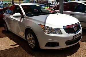 2012 Holden Cruze JH Series II MY12 CD White 5 Speed Manual Sedan Colyton Penrith Area Preview