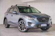 2015 Mazda CX-5 KE1022 Akera SKYACTIV-Drive AWD Blue 6 Speed Sports Automatic Wagon Bellevue Swan Area Preview