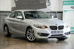 2016 BMW 220d F22 Sport Line Silver 8 Speed Sports Automatic Coupe Albion Brisbane North East Preview
