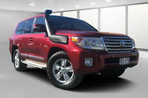 2015 Toyota Landcruiser VDJ200R MY13 Sahara (4x4) Merlot Red 6 Speed Automatic Wagon Dalby Dalby Area Preview