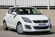 2014 Suzuki Swift FZ MY14 GL Navigator White 4 Speed Automatic Hatchback Cannington Canning Area Preview