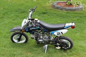 NEW in crate 70cc Apollo Dirt Bikes