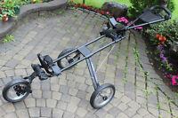 Golf cart club bag carrier Mountain Trail Three wheeler folding