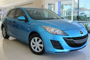 2011 Mazda 3 BL10F1 MY10 Neo Activematic Blue 5 Speed Sports Automatic Hatchback Port Macquarie Port Macquarie City Preview