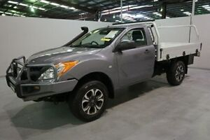 2012 Mazda BT-50 UP0YF1 XT Grey 6 Speed Manual Cab Chassis Old Guildford Fairfield Area Preview