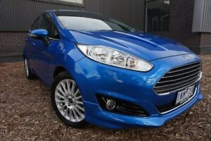2018 Ford Fiesta WZ Sport Blue 5 Speed Manual Hatchback Brighton Bayside Area Preview