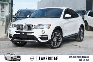 2016 BMW X4 xDrive28i PANROOF, REAR CAM ,NAVI
