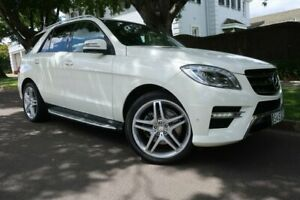 2012 Mercedes-Benz M-Class W166 ML350 BlueTEC 7G-Tronic + White 7 Speed Sports Automatic Wagon Prospect Prospect Area Preview