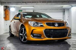 2017 Holden Commodore VF II MY17 SV6 Orange 6 Speed Sports Automatic Sedan Ryde Ryde Area Preview