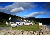 The Old Forge, Knoydart - Waiter/Waitress required for immediate start