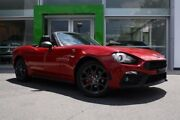 2016 Abarth 124 Spider Red 6 Speed Sports Automatic Roadster Mount Gravatt Brisbane South East Preview