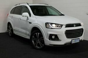 2017 Holden Captiva CG MY17 LTZ AWD White 6 Speed Sports Automatic Wagon Glenorchy Glenorchy Area Preview