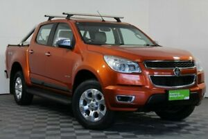2014 Holden Colorado RG MY14 LTZ Crew Cab Orange 6 Speed Sports Automatic Utility Wayville Unley Area Preview