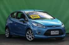 2009 Ford Fiesta WS Zetec Blue 5 Speed Manual Hatchback Ringwood East Maroondah Area Preview