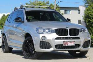 2014 BMW X3 F25 LCI MY0414 xDrive20d Steptronic Silver 8 Speed Automatic Wagon