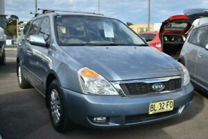 2010 Kia Grand Carnival VQ MY11 Si Tiptronic Blue 5 Speed Sports Automatic Wagon Liverpool Liverpool Area Preview