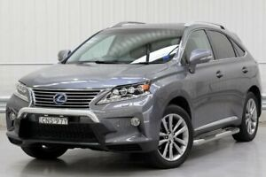 2013 Lexus RX GYL15R RX450h Sports Luxury Grey Constant Variable Parramatta Parramatta Area Preview