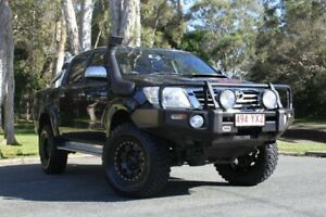 2014 Toyota Hilux KUN26R MY14 SR5 Double Cab Black 5 Speed Manual Utility Southport Gold Coast City Preview