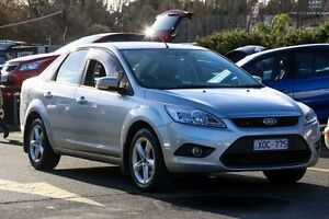 2010 Ford Focus LV LX Silver 4 Speed Sports Automatic Sedan Ringwood East Maroondah Area Preview