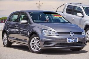 2017 Volkswagen Golf 7.5 MY17 110TSI DSG Grey 7 Speed Sports Automatic Dual Clutch Hatchback Myaree Melville Area Preview