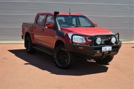 2012 Holden Colorado RG MY13 LT Crew Cab Red 5 Speed Manual Utility