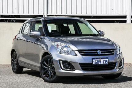 2016 Suzuki Swift GLX FZ MY15 Silver Automatic Hatchback Cannington Canning Area Preview
