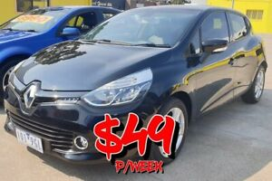 2014 Renault Clio IV B98 Expression EDC Black 6 Speed Sports Automatic Dual Clutch Hatchback Dandenong Greater Dandenong Preview