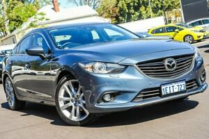 2013 Mazda 6 GJ1031 Atenza SKYACTIV-Drive Blue 6 Speed Sports Automatic Sedan Bayswater Bayswater Area Preview