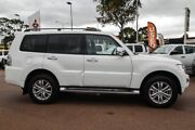 2017 Mitsubishi Pajero NX MY17 GLS White 5 Speed Sports Automatic Wagon Cannington Canning Area Preview