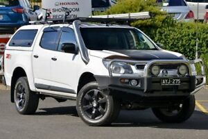 2015 Holden Colorado RG MY16 Z71 Crew Cab White 6 Speed Sports Automatic Utility Narre Warren Casey Area Preview