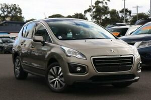 2016 Peugeot 3008 T8 MY15 Active SUV Vapour Grey 6 Speed Sports Automatic Hatchback Frankston Frankston Area Preview