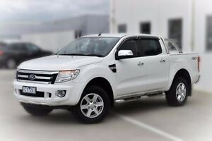 2014 Ford Ranger PX XLT Double Cab White 6 Speed Sports Automatic Utility Pakenham Cardinia Area Preview