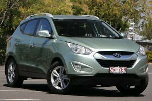 2010 Hyundai ix35 LM Elite AWD Green 6 Speed Sports Automatic Wagon Chermside Brisbane North East Preview