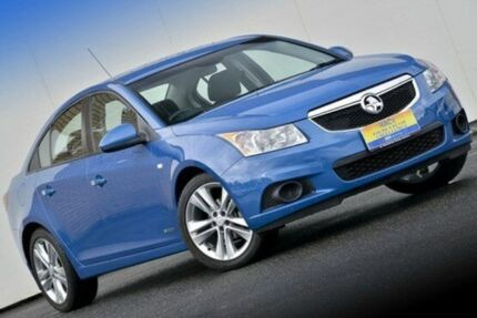 2012 Holden Cruze JH Series II MY13 CD Perfect Blue 6 Speed Auto Seq Sportshift Sedan Ferntree Gully Knox Area Preview