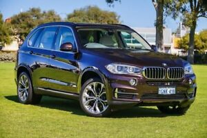 2014 BMW X5 F15 xDrive35i Brown 8 Speed Sports Automatic Wagon Burswood Victoria Park Area Preview