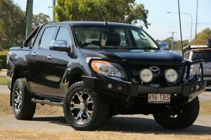 2012 Mazda BT-50 UP0YF1 GT Black 6 Speed Manual Utility Caloundra West Caloundra Area Preview