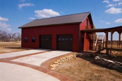 24x36x12 Steel Garage Workshop Building By Excel Metal Building Systems Inc