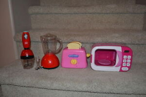 Set of Play Food and Appliances