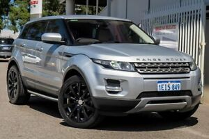 2013 Land Rover Range Rover Evoque L538 MY13.5 TD4 Coupe CommandShift Silver Sports Automatic Wagon