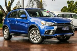 2018 Mitsubishi ASX XC MY19 ES 2WD Blue 6 Speed Constant Variable Wagon Cannington Canning Area Preview