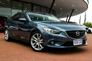 2013 Mazda 6 GJ1031 GT SKYACTIV-Drive Blue 6 Speed Sports Automatic Sedan Wangara Wanneroo Area Preview