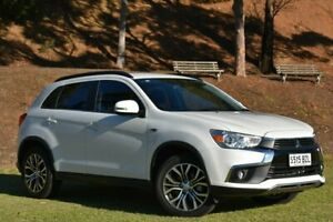 2017 Mitsubishi ASX XC MY17 LS 2WD White 6 Speed Constant Variable Wagon St Marys Mitcham Area Preview