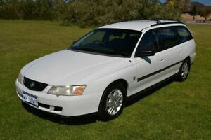 2004 Holden Commodore VY II Executive White 4 Speed Automatic Wagon Rockingham Rockingham Area Preview