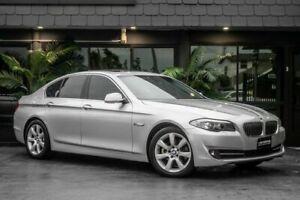 2010 BMW 5 Series F10 528i Steptronic Silver 8 Speed Sports Automatic Sedan Bowen Hills Brisbane North East Preview
