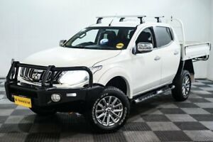 2016 Mitsubishi Triton MQ MY16 GLS Double Cab White 5 Speed Sports Automatic Utility Edgewater Joondalup Area Preview